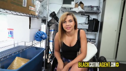 Hot slut gets her slut played with before director drills her hard and deep