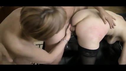 Guy fuck two old grannys