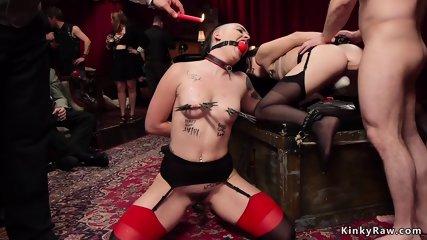 Hot sluts anal orgy banging bdsm