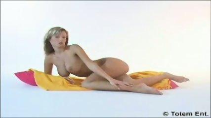 Blond Zuzana teasing - scene 6