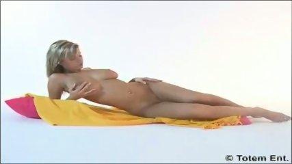 Blond Zuzana teasing - scene 7