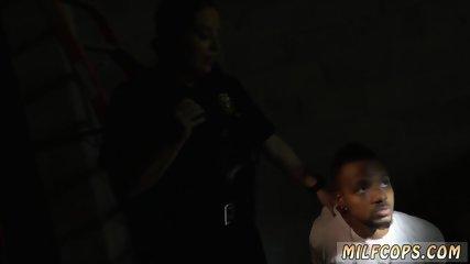 Black cop teen Cheater caught doing misdemeanor break in