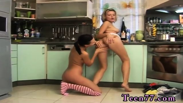 Hot blonde teen couple Two super-cute youthfull lesbians