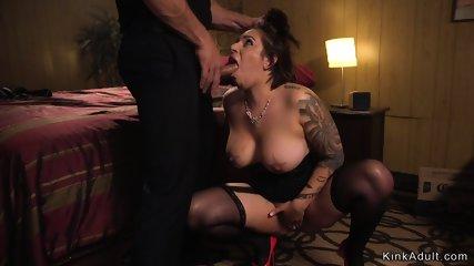 Dude fucked anal pro slut in motel room