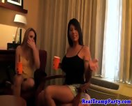 Real Party Amateurs In Creampie Session