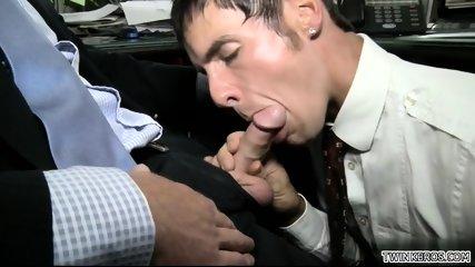 Hot son oral sex with facial