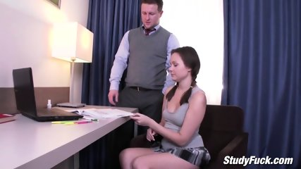 Super Sexy Teen Enjoys Sex With Big Hard Cock