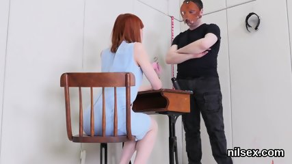 Frisky sweetie is brought in butt hole assylum for uninhibited therapy