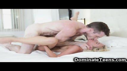 Hot Teen Blonde Gets Aggressive Fuck!