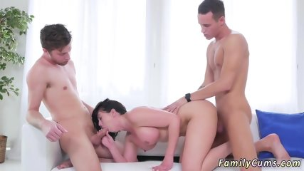 Teen rough sex Forgetful Stepsis Lands In
