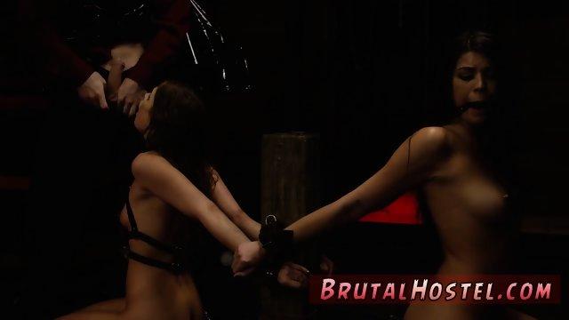 Rough sex pet and bondage panty gag Two youthfull sluts, Sydney Cole and Olivia Lua, our