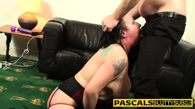 Throated bdsm milf anal