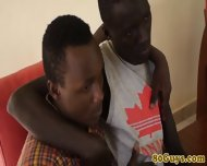 Amateur African Twink And Cockhungry Pal - scene 2