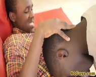 Amateur African Twink And Cockhungry Pal - scene 5