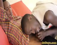 Amateur African Twink And Cockhungry Pal - scene 6