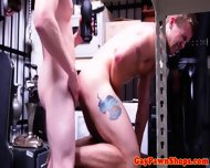 Pawnshop Straight Gets Cum Drenched