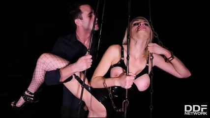 Shackled Spanked And Penetrated - scene 8