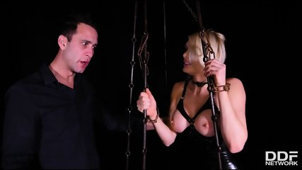 Shackled Spanked And Penetrated - scene 3
