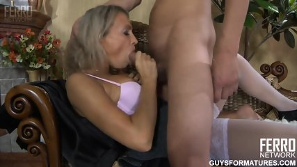 Sexy Milf Takes Dick