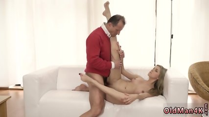Teen rain outdoor Stranger in a large house knows how to steaming you up