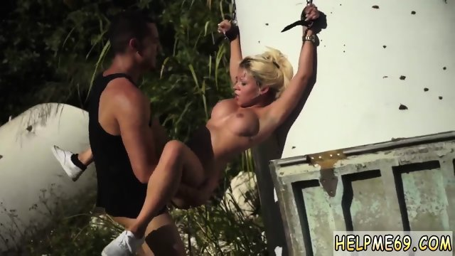 Slave gangbang and bdsm bondage squirt public It wasn t brainy of Marsha May to get into