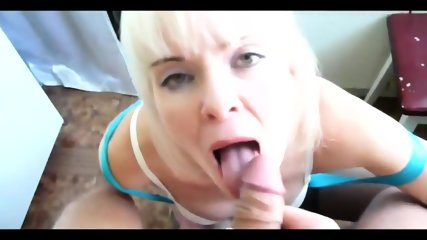 Hot Blonde Sucks Dick