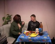 Russian Mother gets fucked - scene 2