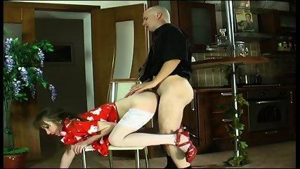 Russian Housewife Gets Fucked - scene 12