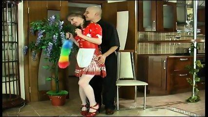 Russian Housewife Gets Fucked - scene 1