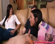 Stepmom Has Greedy Throat