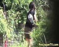 Japanese Pee Babe Pisses