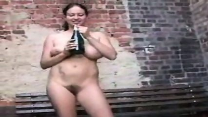 Busty Chick loves to fuck a Bottle - scene 3