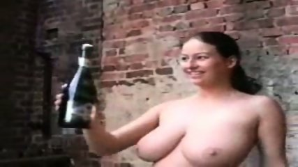 Busty Chick loves to fuck a Bottle - scene 7