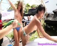 Coed Car Wash Skanks Love Tasting Jizz