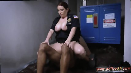 Horny hairy milf anal xxx Don t be ebony and suspicious around Black Patrol cops or else