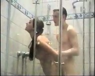 Pretty Asmira getting fucked in the shower - scene 2