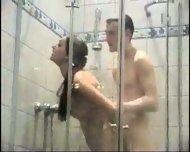 Pretty Asmira getting fucked in the shower - scene 2