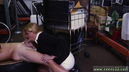 White girl spanked Hot Milf Banged At The PawnSHop