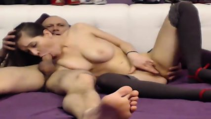 Busty Girl Rides Dick