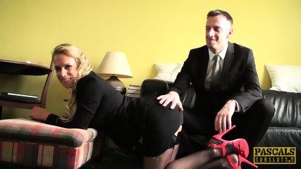 PASCALSSUBSLUTS - MILF Sasha Steele fed cum after BDSM sex
