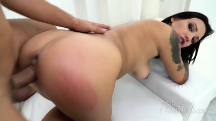 Anal Games With Hot Brunette