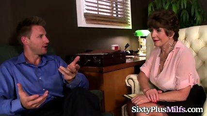 Super Hot Granny Enjoys Hardcore Anal Sex
