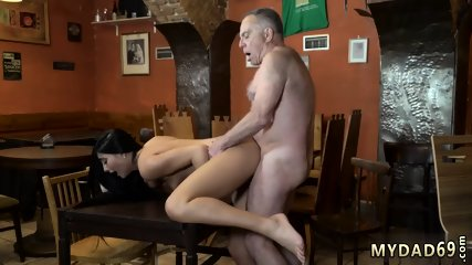 Daddy grunts Anna and her boypal came to his father s bar that morning.