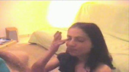 Hot cumshot in the face - scene 6