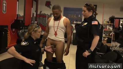 Cam milf anal machine When we arrived, the suspect was getting a hair cut.