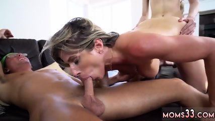 Step mom gives footjob Stepmom Turns Wet Dreams Into Reality
