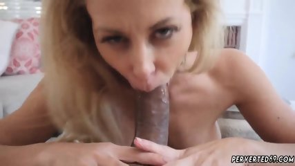 Mom makes breakfast in robe and family the woods Cherie Deville in Impregnated By My