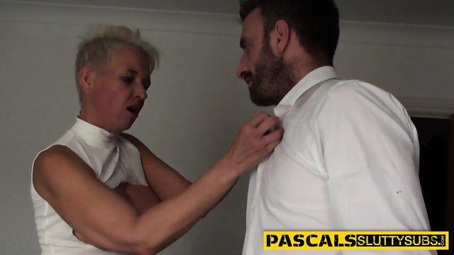 Sub grandma gets analized