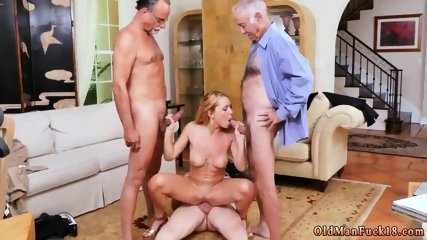 Bisexual old guy xxx Frannkie And The Gang Tag Team A Door To Door Saleswoman