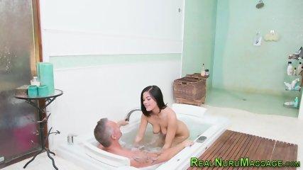 Nuru massage babe riding